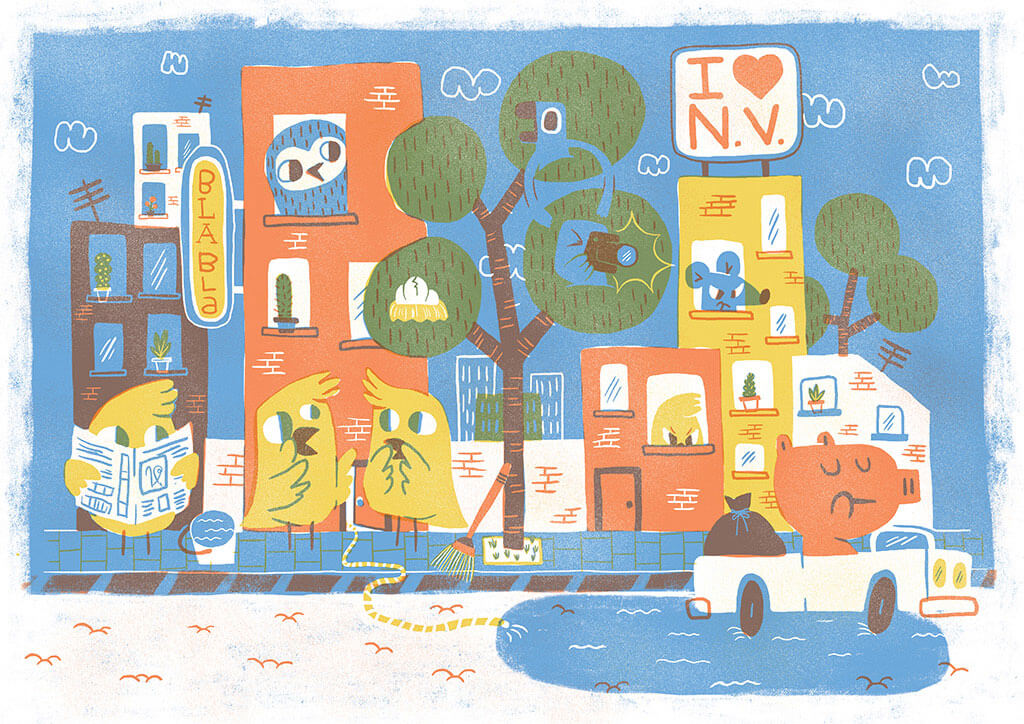 Nat Joan | Ilustrador | City of doG