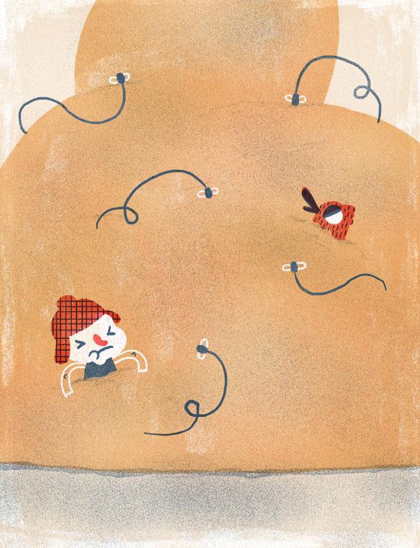 Nat Joan | Ilustrador | Lost | El pantano